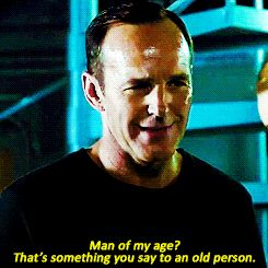 That time he actually sassed his aging process into reversing. | 15 Times Coulson's Superpower Was Sass