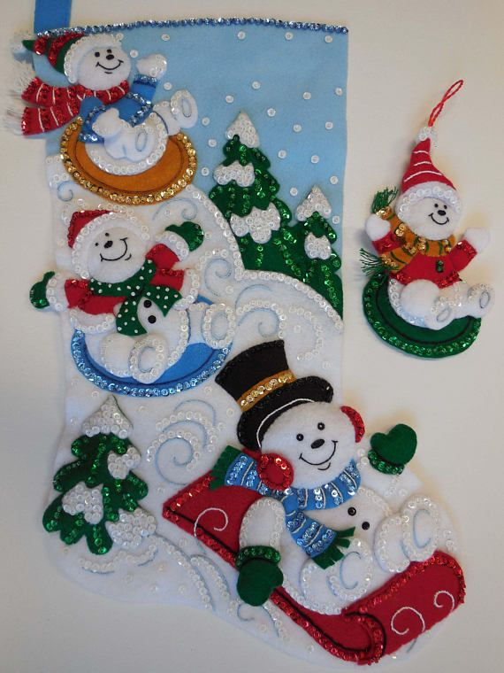 Media de la Navidad Snowday Funday nuevo diseño de acabado