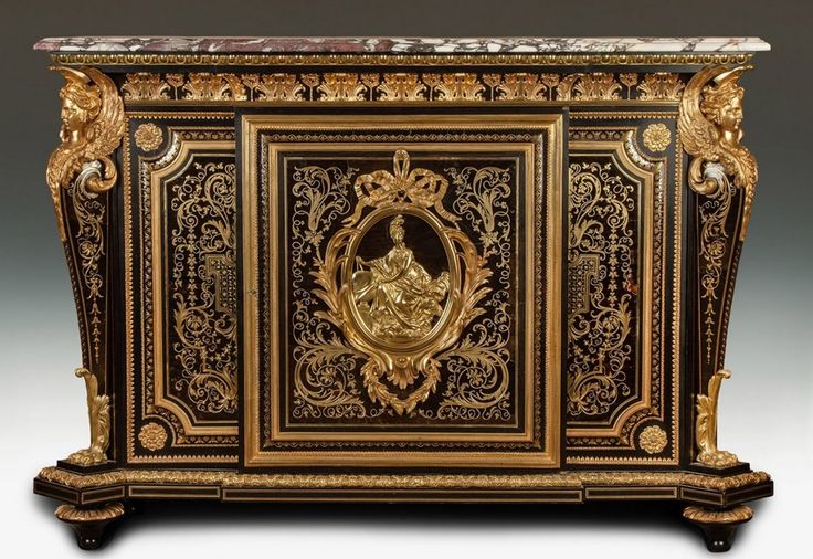 Fine and Rare Boulle Cabinet : Lot 388