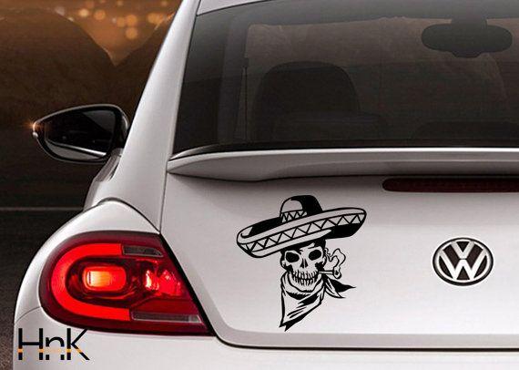 Car sticker bumper sticker bumper decal hood decals window vinyl duck off