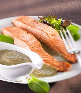 Sauce à l'oseille | Envie de bien manger. Plus de recettes ici : http://www.enviedebienmanger.fr/recettes/sauce