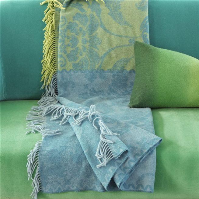 Kashgar Jade Throw | Designers Guild