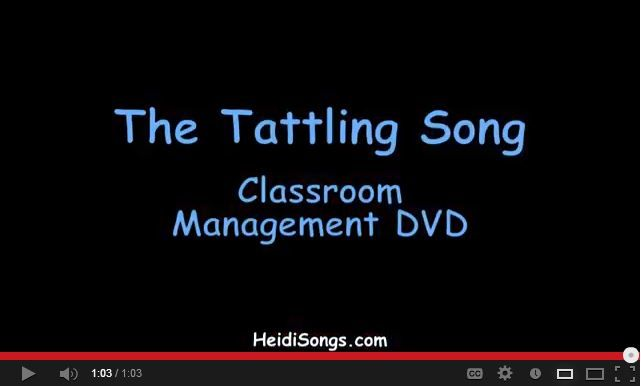 A wonderful classroom management song for little tattlers! Great way to address tattling issues. Free!