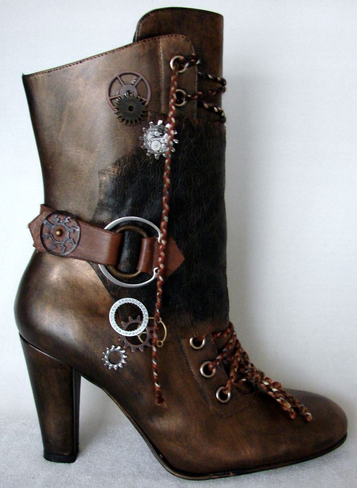 These Boots Were Made For Strutting: Best 25+ Steampunk Boots Ideas On Pinterest