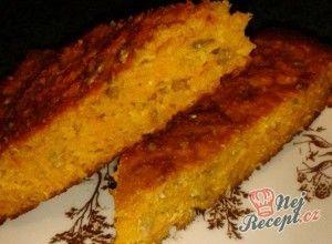 Bezlepkový mrkvový koláček