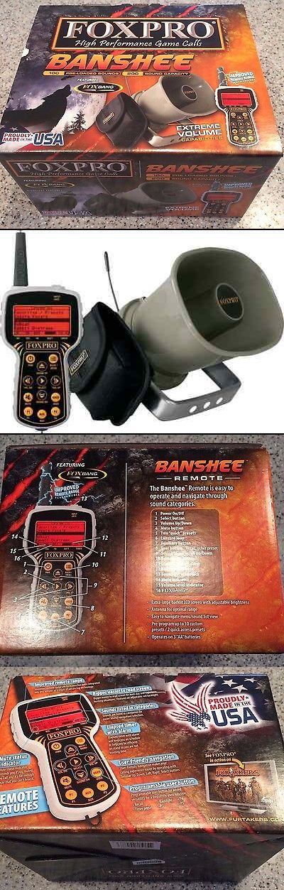 Game Calls 36252: Foxpro Banshee Electronic Portable Game Predator Caller And Speaker With Remote -> BUY IT NOW ONLY: $284.99 on eBay!