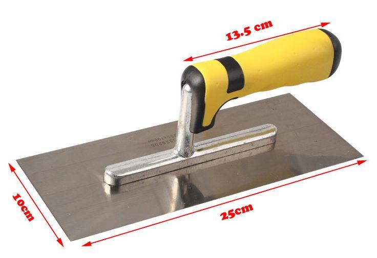 Pengiriman gratis Bosi baru 250 x 100 mm beton menyelesaikan sekop