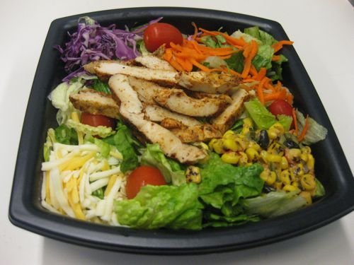 "I'm not one for fast food but this is the best ""fast food"" salad out there...Southwest Salad-Chick-fil-A, of course!"