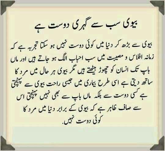 Bad Wife Quotes In Urdu: Pin By Saba Afrin On Binte - Hawa.