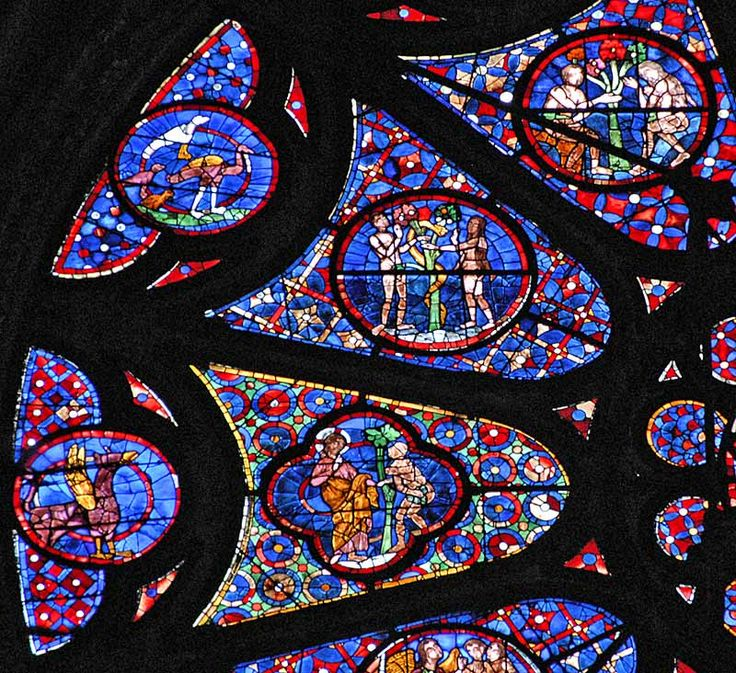 The North Rose window of Reims Cathedral