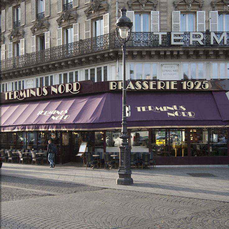 Terminus Nord - la Brasserie T/O Gare du Nord lekkere visschotels.