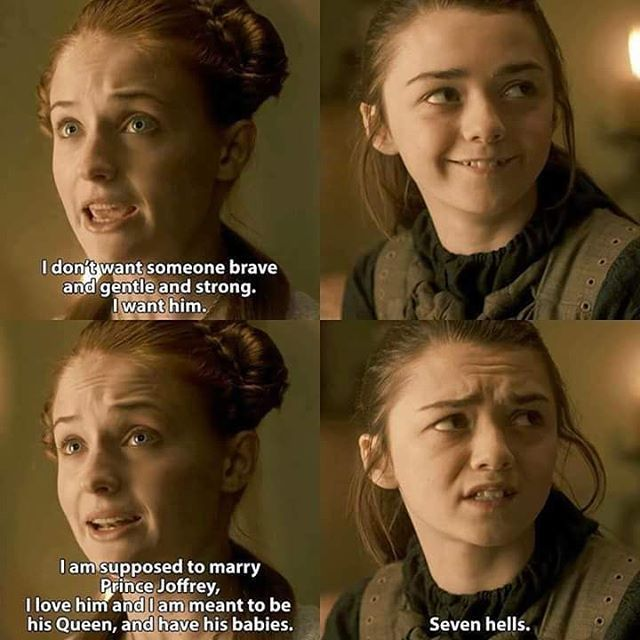 Arya is the best.