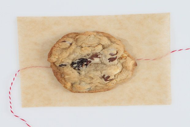 Kendra's Vanilla-Cherry Chocolate Chip Cookies / Kim Sentner