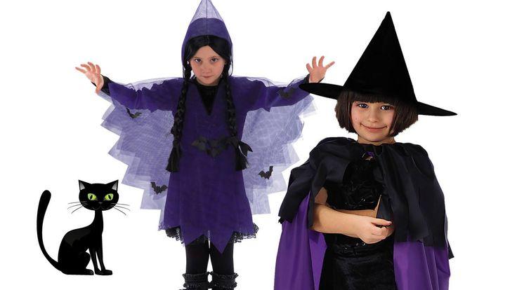 Viola e nero, i colori delle streghe.