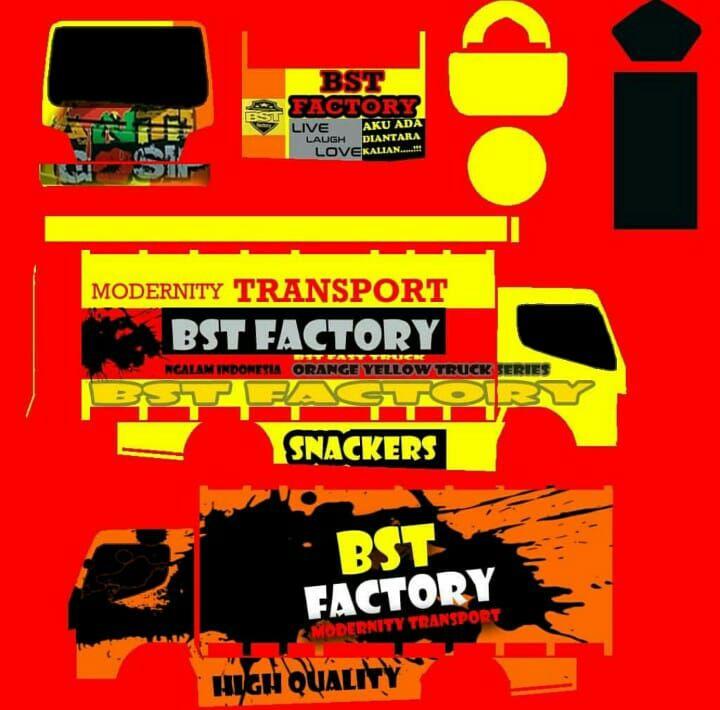 Livery Idbs Truck Trucks Star Bus Bus Games