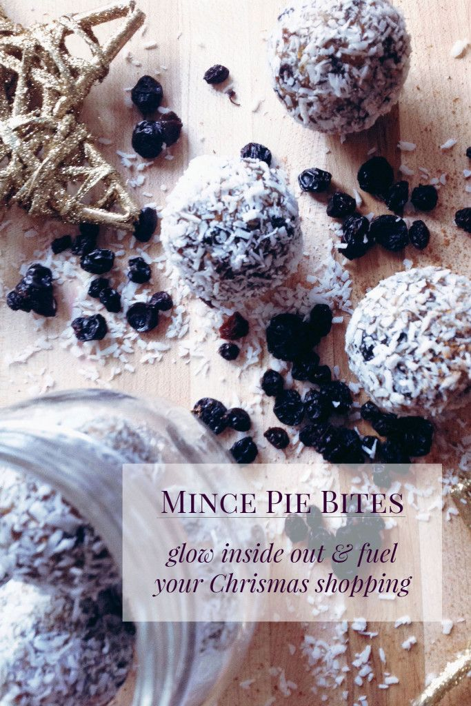 These mince pie date bites are the bomb!