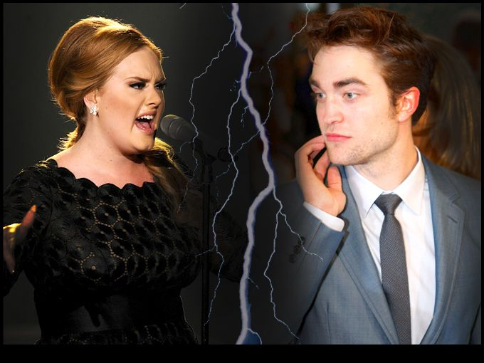 Robert Pattinson se pelea con Adele