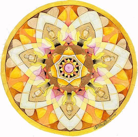 Sun Mandala Art