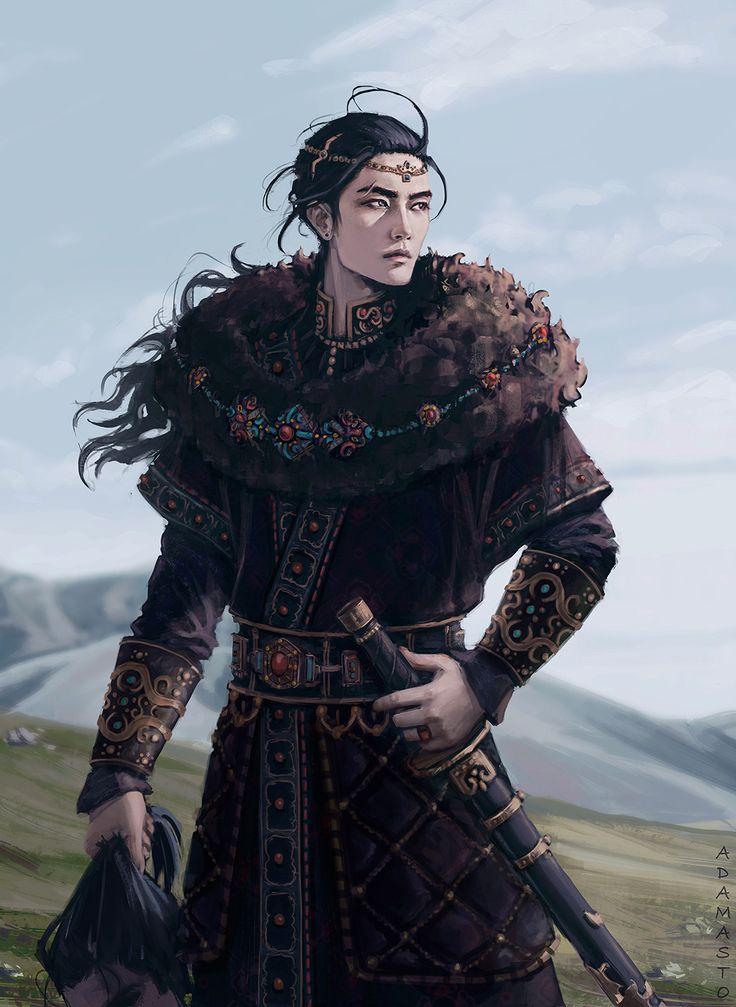 ArtStation - Mongol, Kseniia Tselousova
