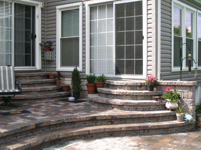 Exceptional Steps From Patio Door