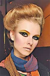 70's make up awesome