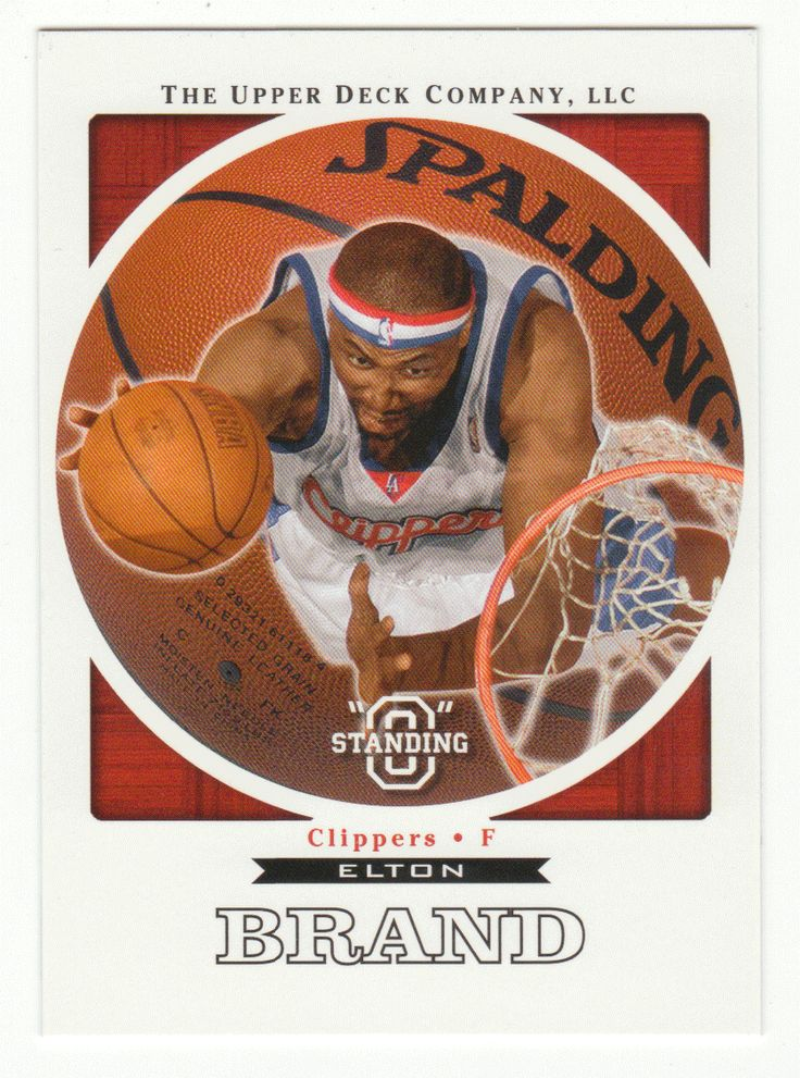 Elton Brand # 30 - 2003-04 Upper Deck Standing O Basketball