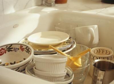 cleaning porcelain sinks - Porcelain Kitchen Sink