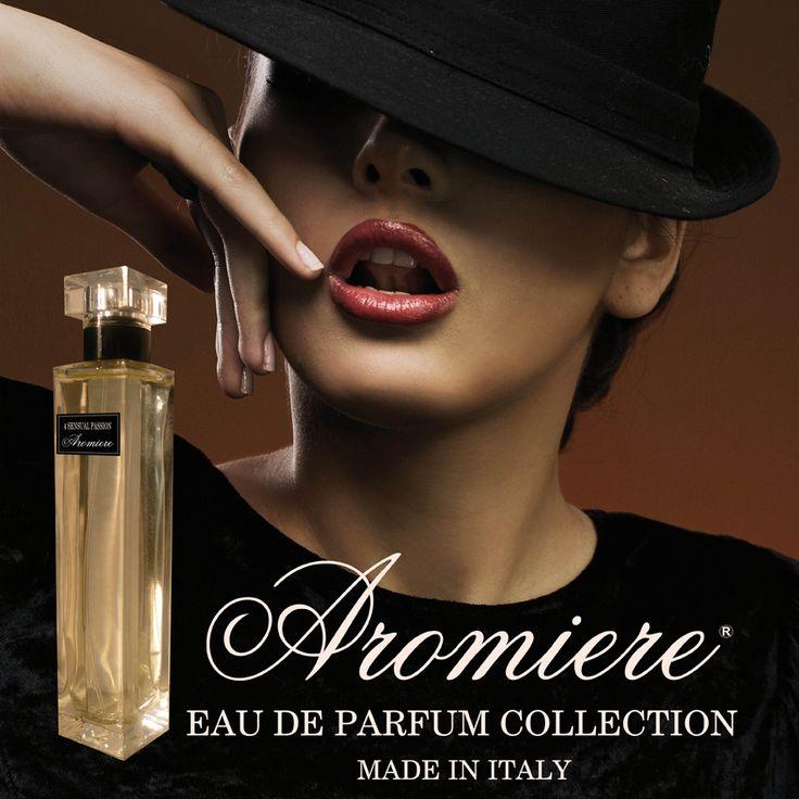 La collezione privata Aromiere. 6 bouquet preziosi e brevettati, per le donne più raffinate...