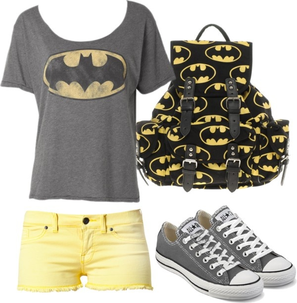 """""""Batman for the win!"""" by cl-sugar on Polyvore"""