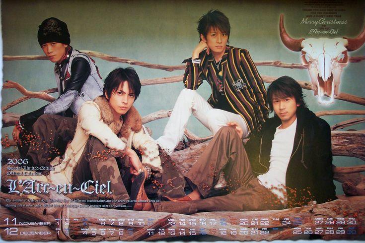 2006 source: LArc~en~Ciel Official Calendar