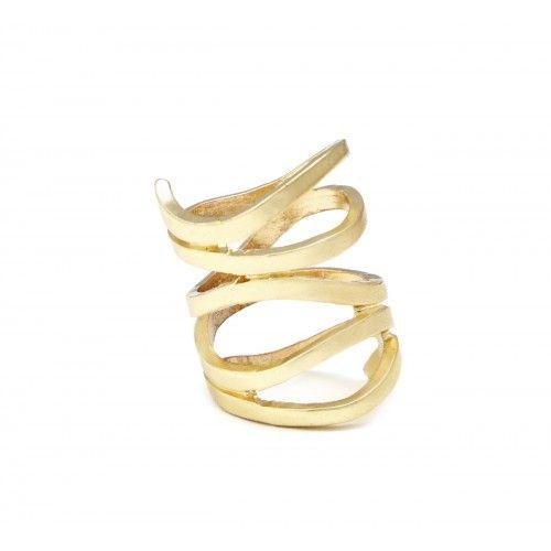 Cutout Layered Ring
