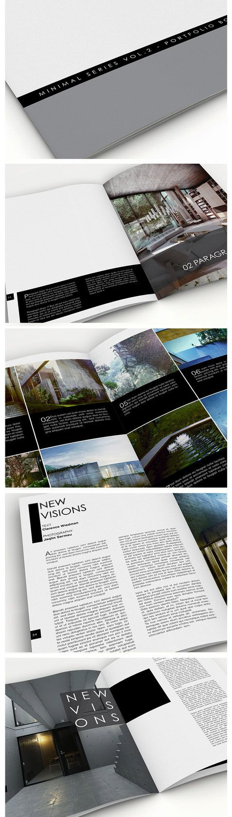 Portfolio book vol 2 a4 indesign template by anderworks for Indesign templates for books