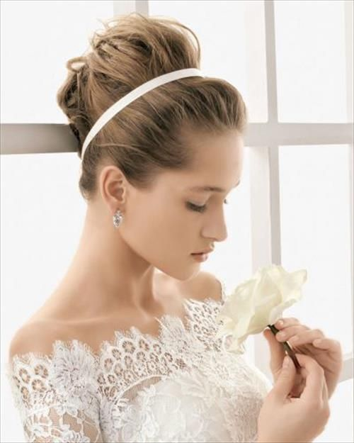 Peachy 1000 Images About Wedding Hairstyles On Pinterest Short Hairstyles Gunalazisus