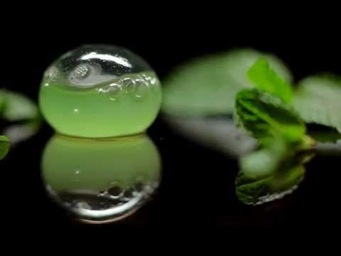 Molecular Gastronomy: Reverse Spherification to Make Spheres with Liquid Inside - YouTube