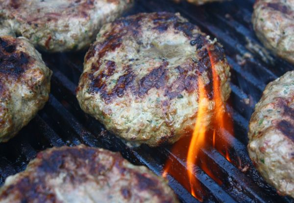 Tips on burger grilling and Grilled lamb and elk burger recipe