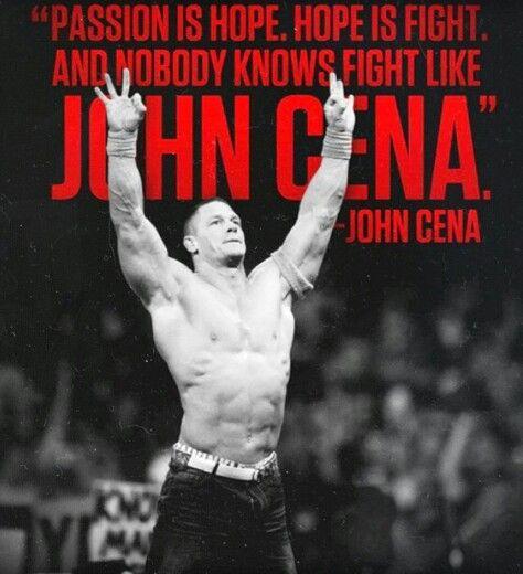 John Cena  #Quote #WWE #JohnCena