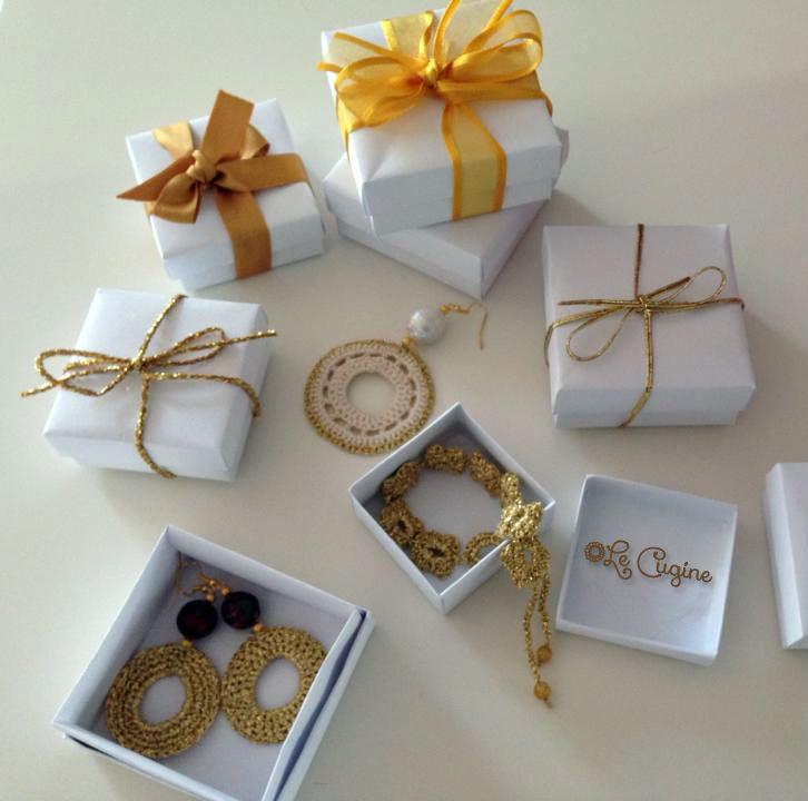 #regali  #natale #handmade #fattoamano #uncinetto #unico #creazioni #bracciale #orecchini #collane #tricottino #pietredure