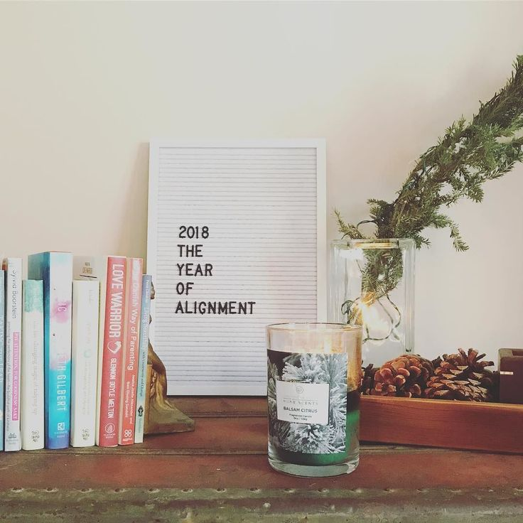 2018 Im ready. My #onelittleword is alignment. Alignment in my work words body home money relationships values purpose and spiritual practice.  Ive chosen a word since 2013 and its a practice I highly encourage. If youre able to keep it in sight daily it can be a great reminder of your intentions.