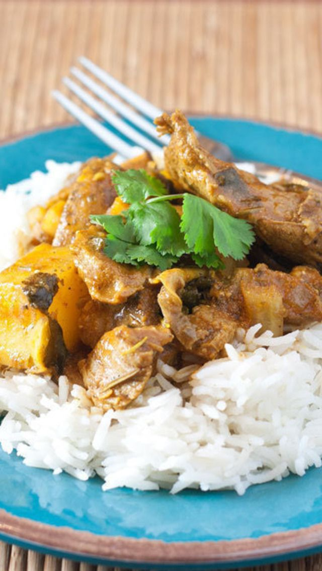 how to make lamb curry in slow cooker