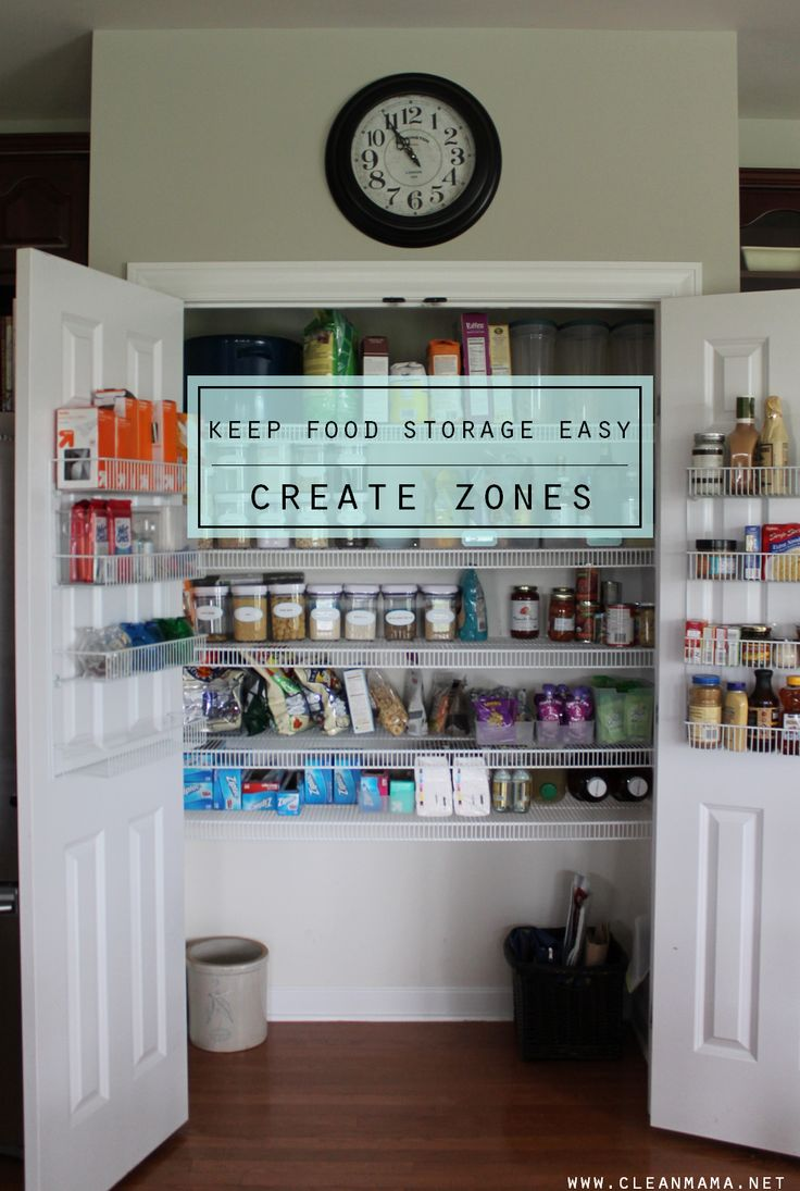 128 best Food Storage Organization images on Pinterest ...