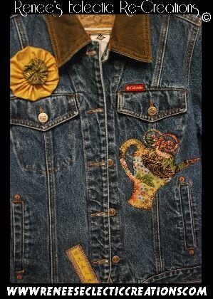 Colombia Blue Jean Oriental Jacket