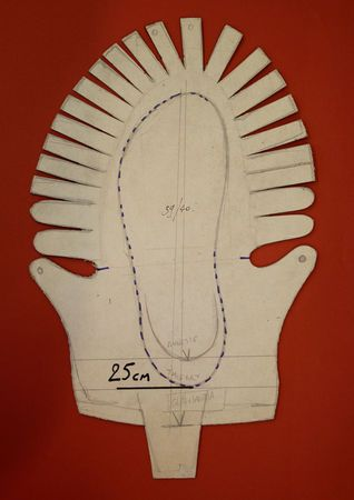 Chaussure Celte Gabarit