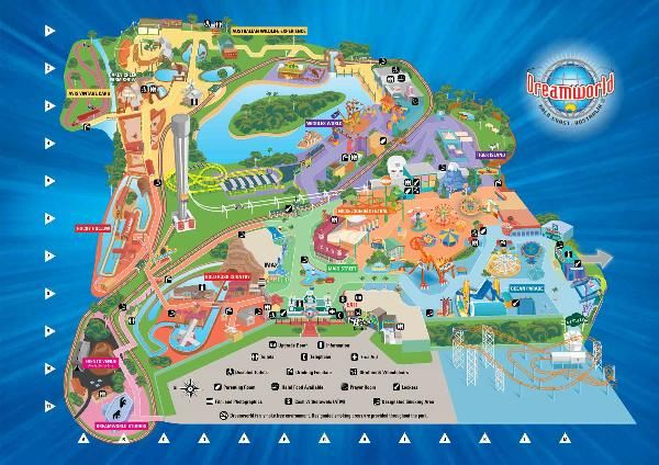 map of dreamworld gold coast - Google Search