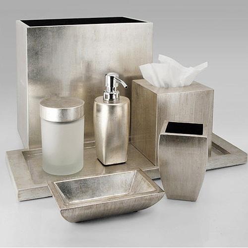 32 best images about badkamer accessoires on pinterest for Silver bathroom decor