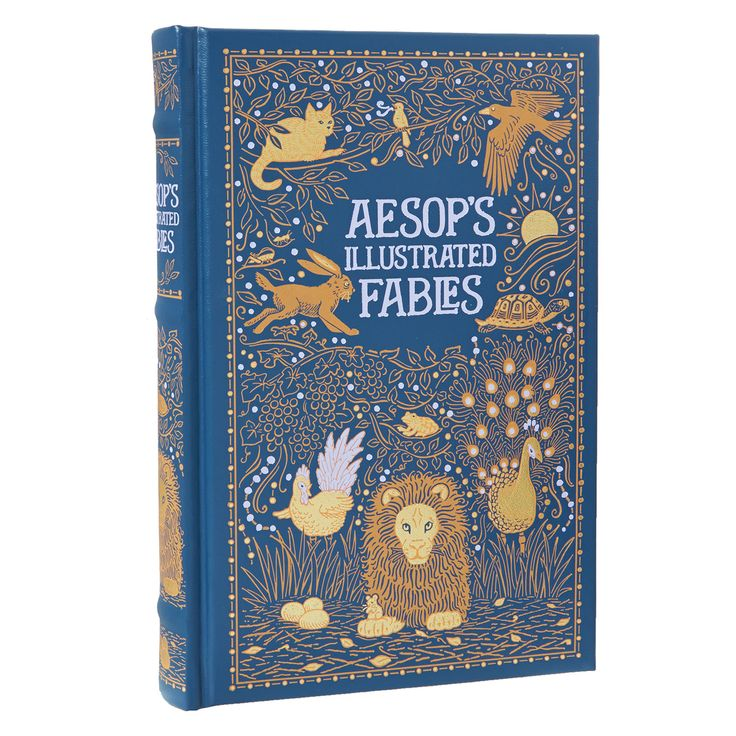 """""""Aesop"""" Aesop's Illustrated Fables TK Maxx Book"""