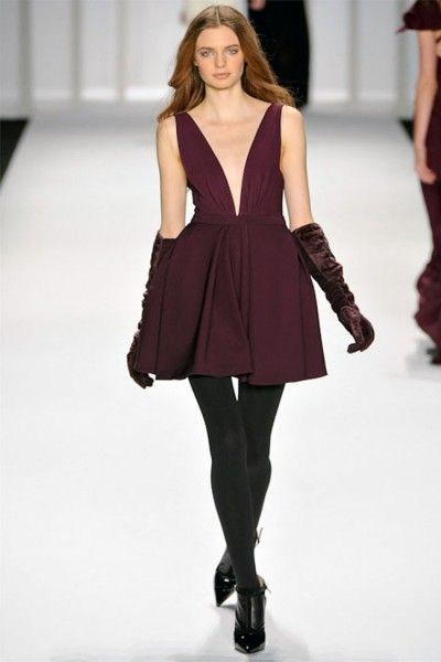 J. Mendel: 10 Dresses, Fashion Week, Gorgeous Gloves, J Mendel, Fall 2012, New York Fashion, Jmendel, Mendel Fall, Low Cut Dresses