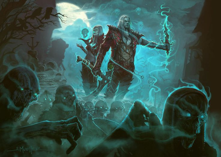 Diablo Necromancer Art Leaks Ahead of BlizzCon http://www.diabloii.net/blog/comments/necromancer-art-leaks