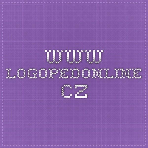 www.logopedonline.cz