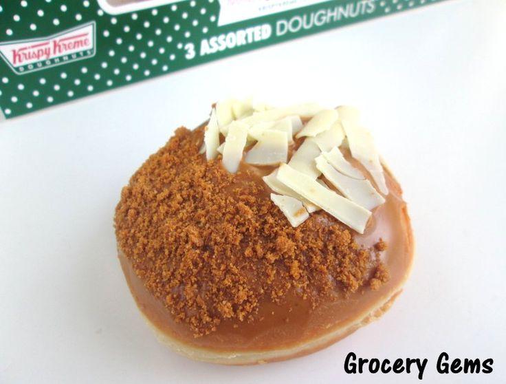 New Krispy Kreme Lotus Biscoff Caramelised Biscuit Doughnut!
