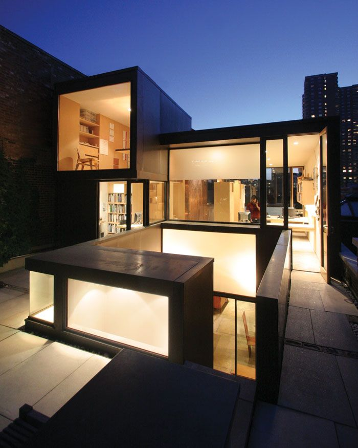 Urban Interface Loft   Dean/Wolf Architects   other one my style. so much light.